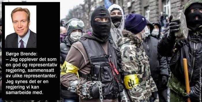 Vesten samarbeidet med nazister for å gjennomføre kuppet i Ukraina i 2014