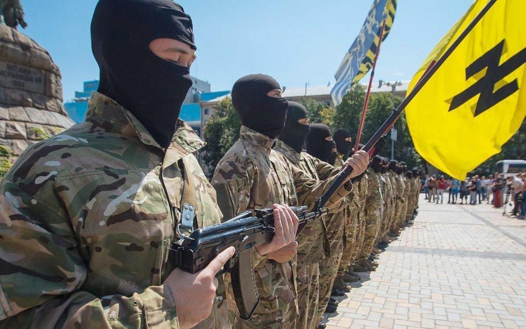 USA trener nazi-bataljon i Ukraina