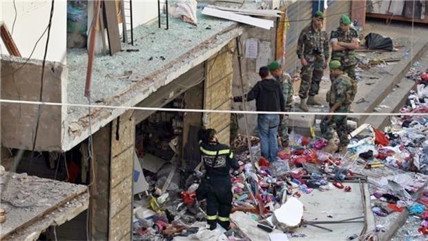 Minst 43 mennesker ble drept da IS sprengte bomber i Bourj el-Barajneh i Beirut 13. november 2015