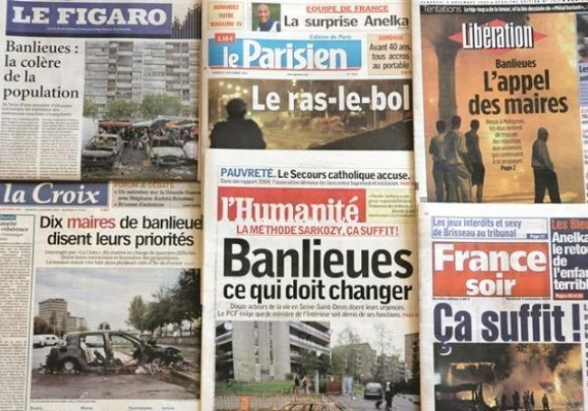Intifada i Frankrike?