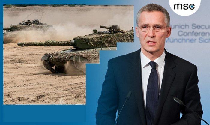 Stoltenberg jubler over mer krig i Afghanistan