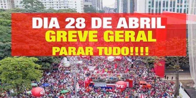 "Generalstreik mot Michel Temers ""reformer"" i Brasil"