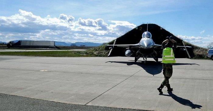 Bodø: storinnrykk av kampfly - trener til den neste store krigen