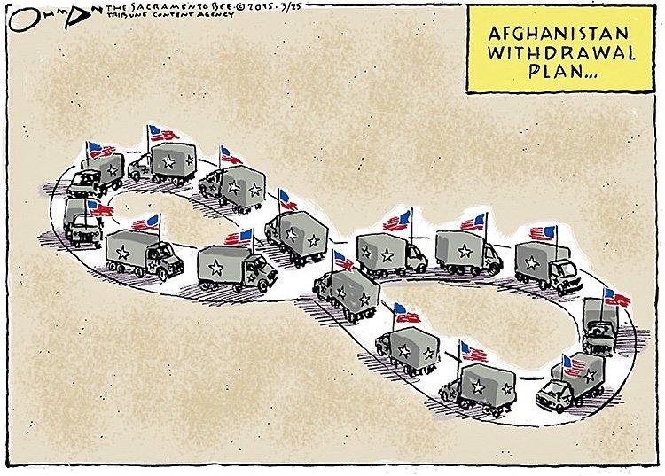 Er Trumps krig i Afghanistan rettet mot Kina?