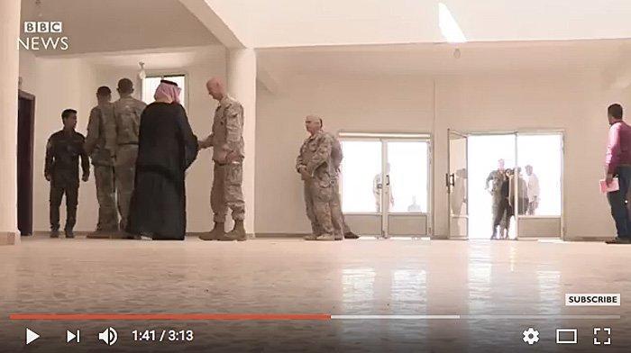 Lar USA Daesh rømme Raqqa?