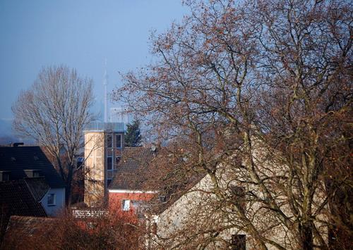 Steigerturm Berghofen vom REWE-Dach