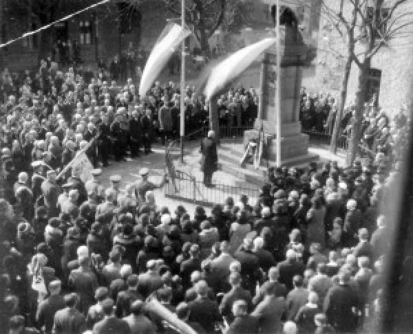 Kriegerdenkmal Berghofen 1932