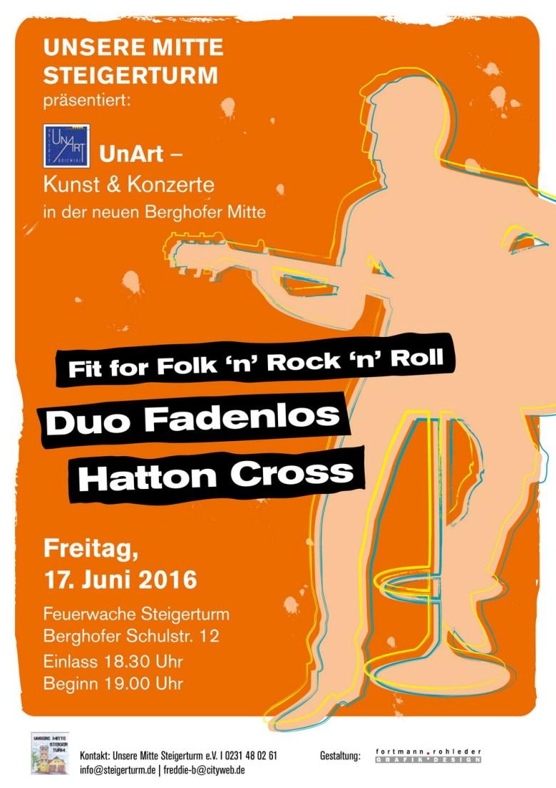 UnArt Konzert Steigerturm 17.6.2016