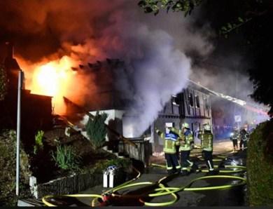 Gebäudebrand in Neuweier