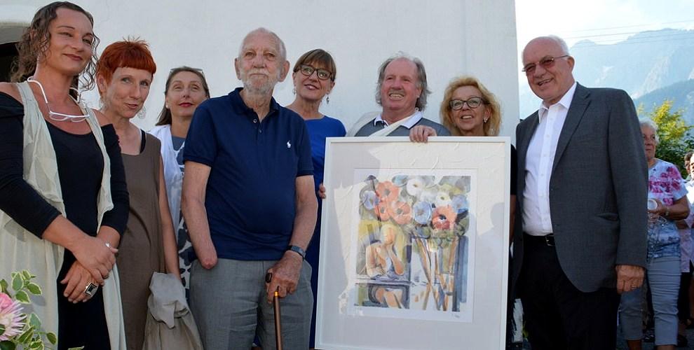 12. Afra-Benefizfest mit Elmar Kopp - Festmesse, Künstler- und Lithographiepräsentation