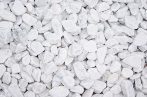 Marmor - Carrara weiß Kies 25-40mm