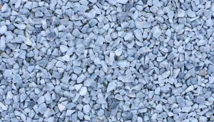 Marmor – Eisblau Splitt 8-16mm