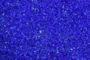 Glassplitt Kobaltblau