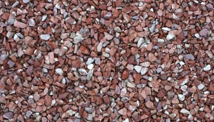 Marmor – Marmorsplitt rot weiß 8-11mm