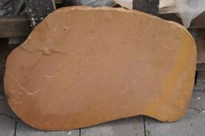 Trittstein Platten gold