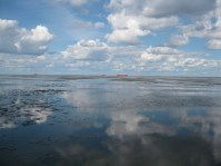Himmel im Wattenmeer