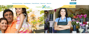 Maryland Health Connection Website
