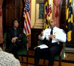 Mayor Rawlings-Blake and Police Commissioner Batts