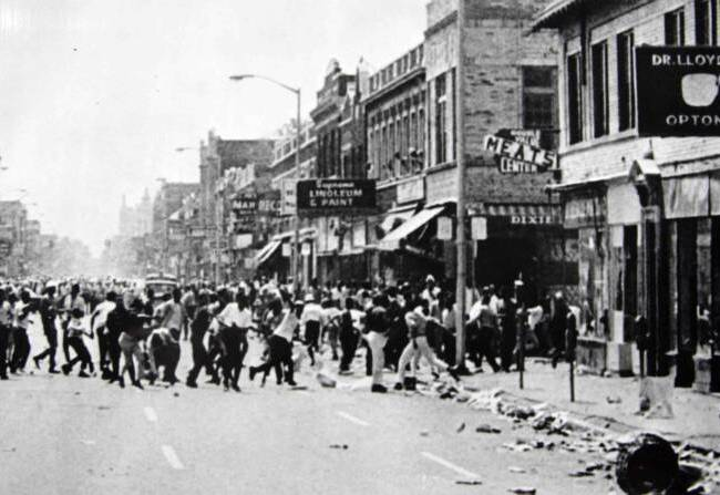 The Detroit Riots