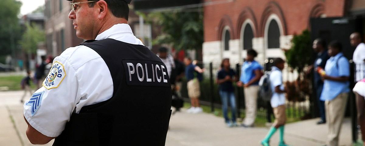 School Police (Credit: MSNBC)