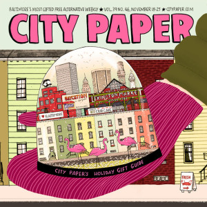 City Paper Cover (Credit: City Paper)
