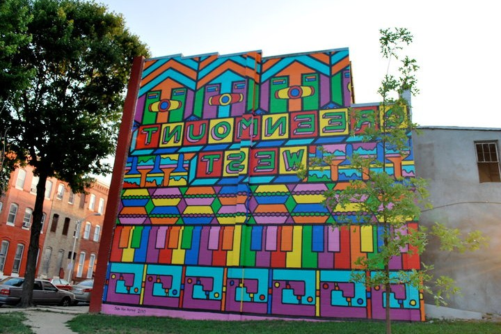 Green mount West Mural (Credit: Flickr- Central Baltimore)