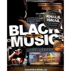 black-message-music