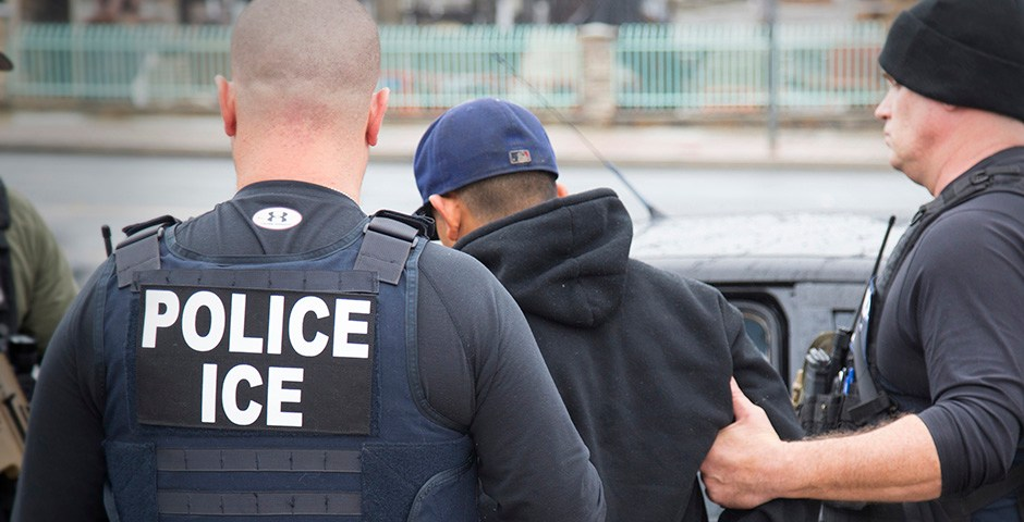 ICE Raid (Credit: The Inquisitir)