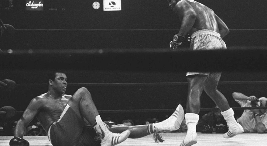 Joe Frazier (Credit: Associated Press)