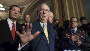 Senate Health Bill (Credit: Washington Examiner)