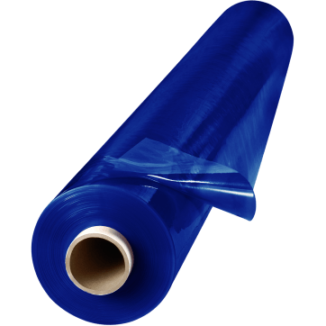 ArcView 14 Mil Flame Retardant Tinted Transparent Vinyl Welding Curtain Blue Steiner Industries