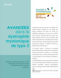 les avancées dans la dystrophie myotonique de type 2
