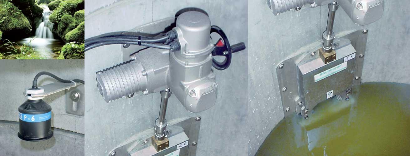 Easyslide Abflusssteuerung