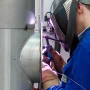 Industriemechaniker, Edelstahlschweißen