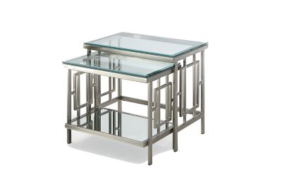 Buy Cheap Glass Nest Of Tables Compare Tables Prices For