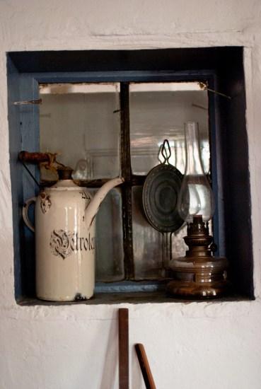 Innenfenster im Museum