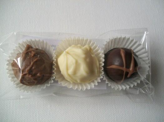 Am Sonntag: afa Schokoladen mit Trüffeln