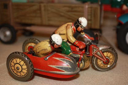 Blechspielzeug im Spielzeugmuseum