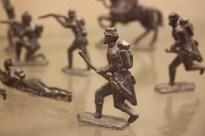 Zinnsoldaten im Spielzeugmuseum