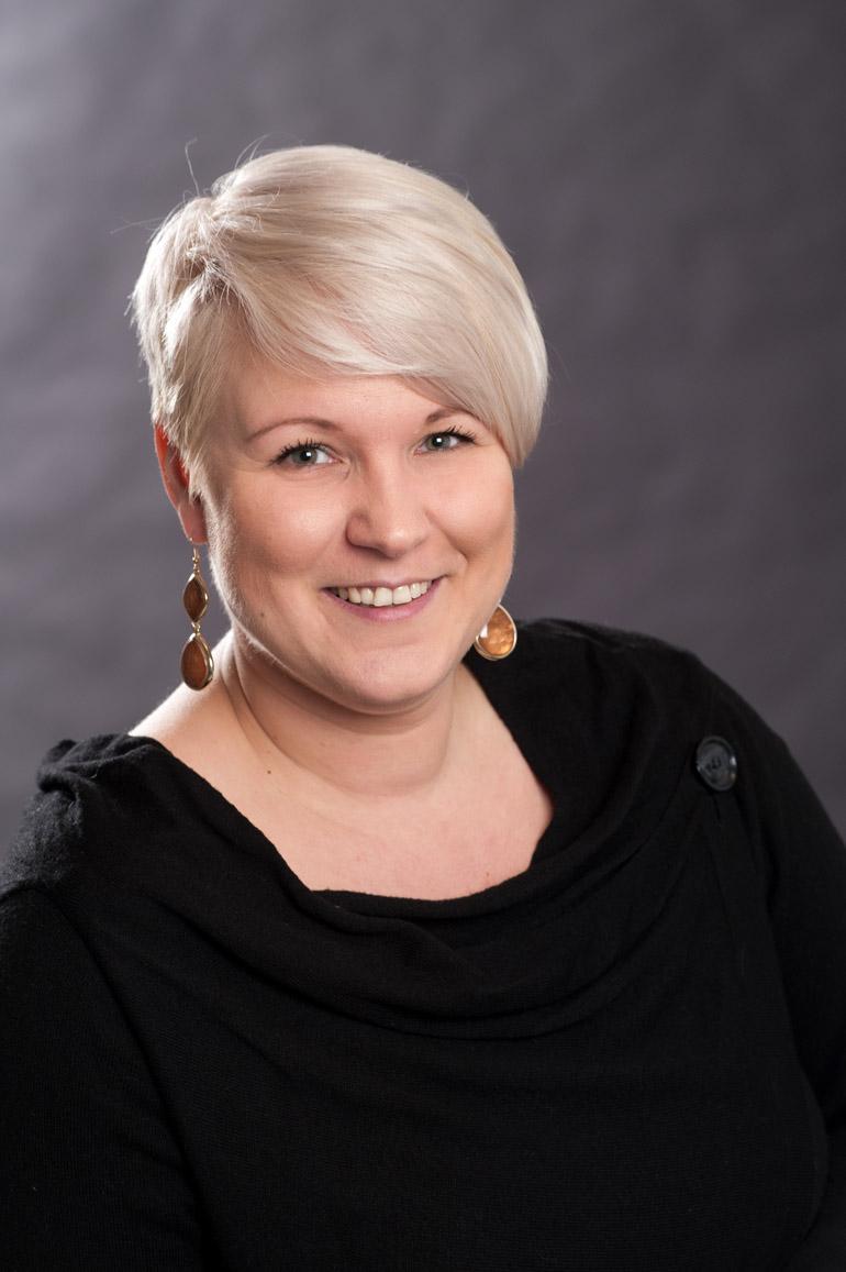Sekretärin Frau Janet Reschke