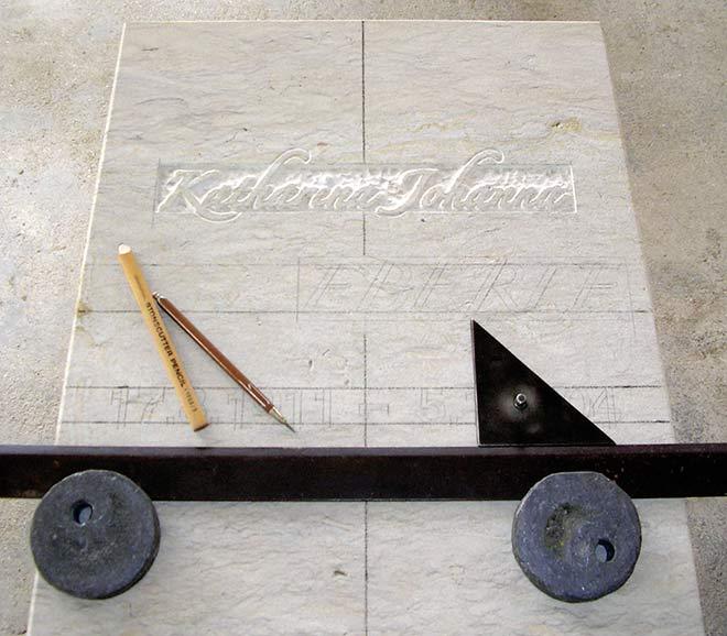 Steinmetz Schriftblock
