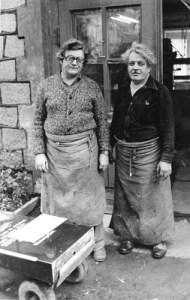Helmut und Manfred auf dem Grünen Graben 17