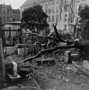 Originalbilder von der Zerstörung auf dem Grünen Graben