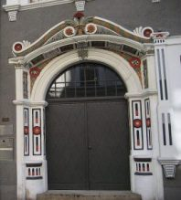 Portal der Brüderstraße 11 in Görlitz