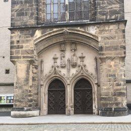 Portal der Frauenkirche Görlitz
