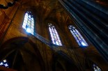 Light Beams in Catedral de Barcelona