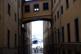 Ship Arriving at Stockholm Harbour