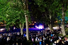 The Pstereo Festival gathers a crowd of 7500.