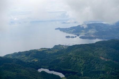 View from Helleknappen.