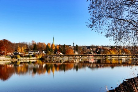 Autumn colors in Trondheim.